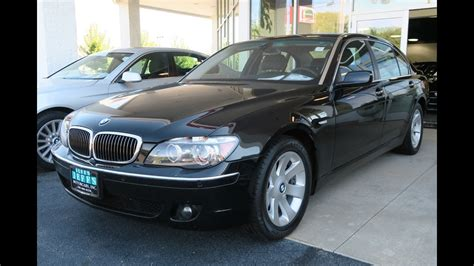 Bmw For Sale In Ohio 2007 bmw 750li for sale in canton ohio jeff s motorcars