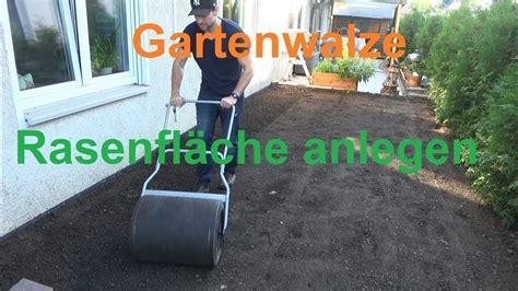 Garten Eben Machen by Gartenwalze Boden Ebnen Rasen Neu Anlegen Mit Einer