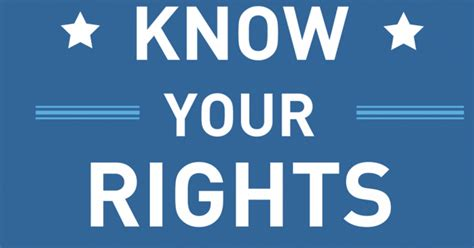 Know Your Rights - Train the Trainer | ACLU of Arizona