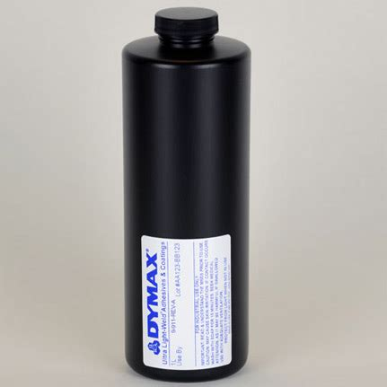 dymax multi cure 9 911 rev a uv curing adhesive clear 1 l bottle