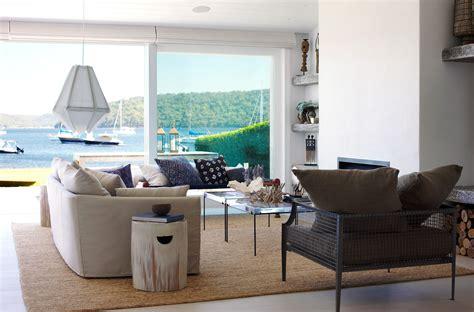 Nautical Style Living Room Furniture by Classic Coastal Interior Design Ideas