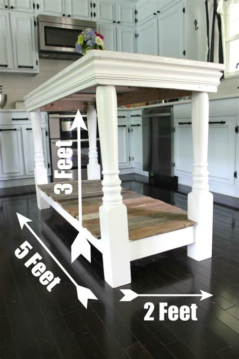 cost to build a kitchen island diy kitchen island with salvaged wood