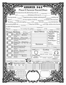 Dungeons And Dragons 5 Edition Deutsch Pdf Download : dungeons and dragons character sheets baroque character sheet ad d version d d pinterest ~ Orissabook.com Haus und Dekorationen