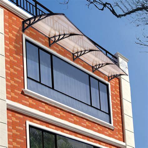 window door canopy awning sun shade hollow sheet garden