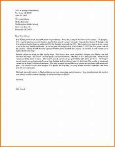 Business Letter Format For Students Sample Business Letter