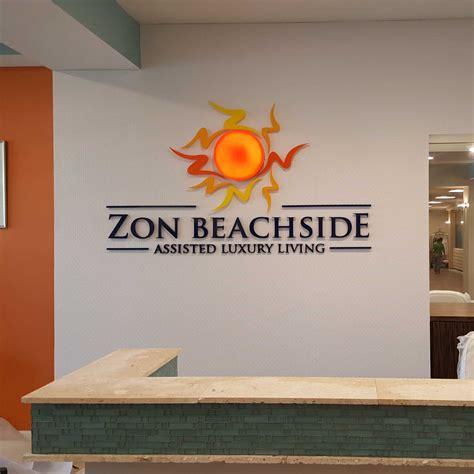lobby sign lobby display entrance sign