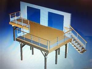 Terrasse Metallique Suspendue : terrasse m tallique conseils 16 messages ~ Dallasstarsshop.com Idées de Décoration