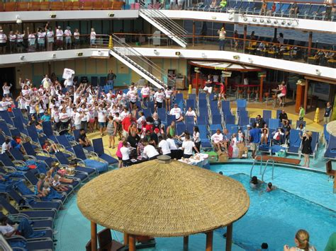 Pool, Spa, Fitness On Carnival Breeze Cruise Ship Cruise