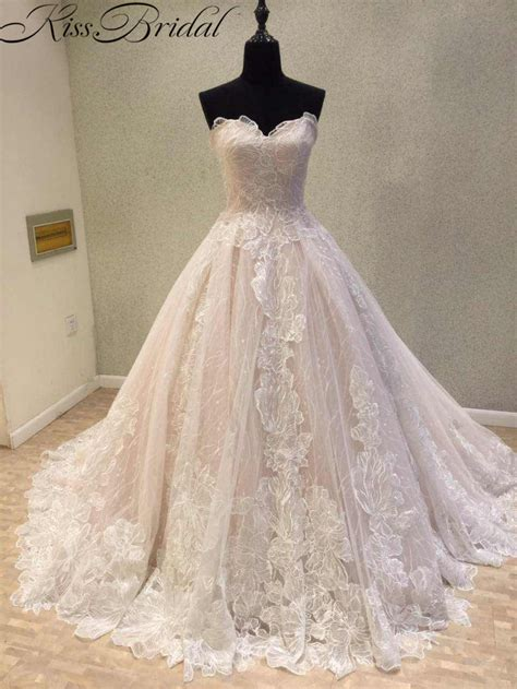 Newest Wedding Dress 2018 Vintage Lace Bride Dresses