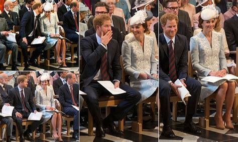 prince harry shares  giggle  kate middleton
