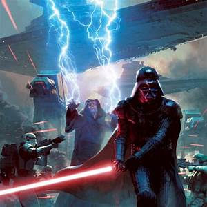 Palpatine and Vader vs Dooku, Ventress, Maul and Savage ...