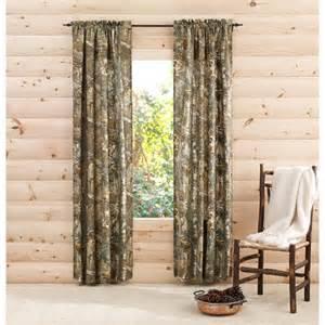 realtree xtra camo curtain panels set of 2 walmart com