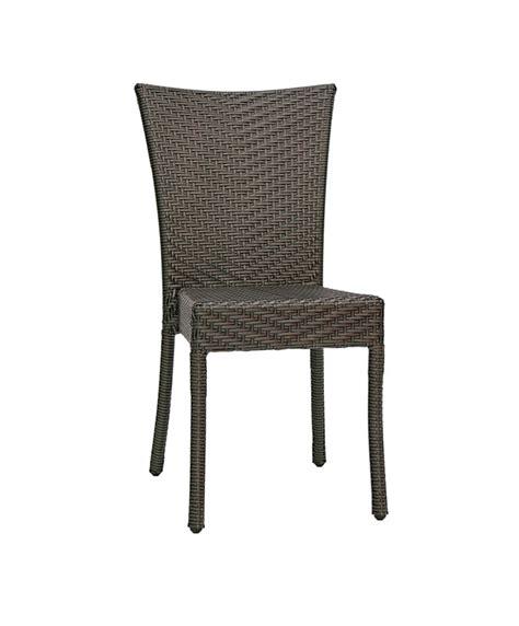 chaise en résine tressée chaises d 39 extérieur en résine tressée archives le mobilier du pro