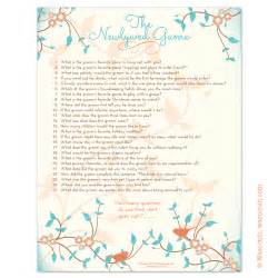 Good Bridal Shower Prizes by Instant Downloadable Bridal Shower Games That You Can