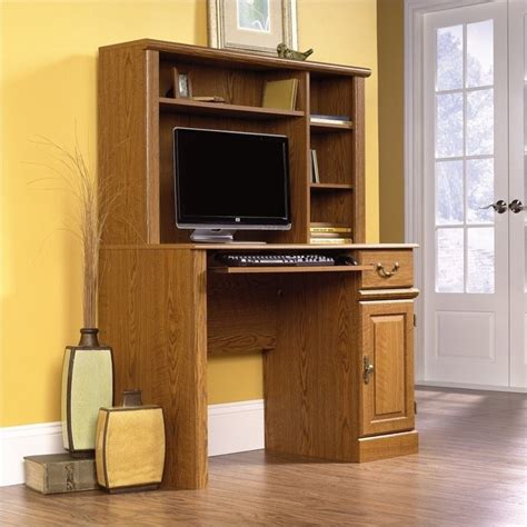 small wood computer small wood desk simple home decoration tips