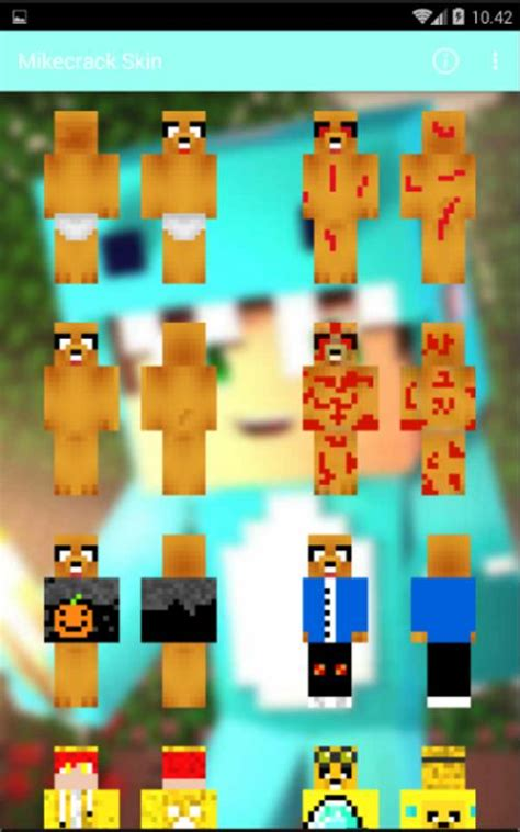 mikecrack skin  android apk