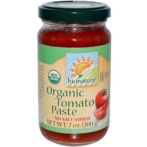 tomato paste bionaturae organic tomato paste 7 oz 200 g iherb com