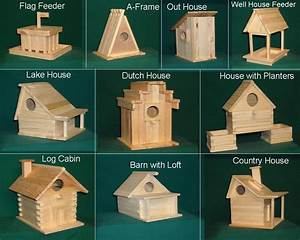 Wood Bird house kit collection 20 kits included
