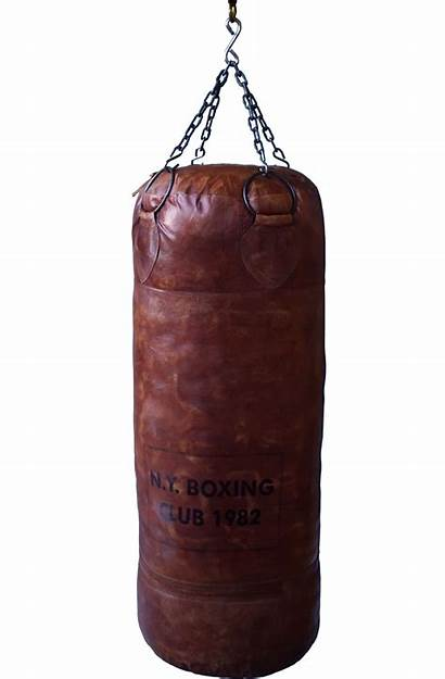 Bag Punching Leather Boxing Punch Gym Living