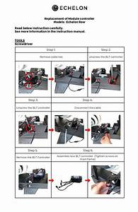 Rower Instructions    Service Manual  U2013 Echelon Support