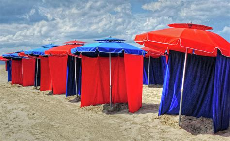 Beach Umbrellas Nice France Photograph By Dave Mills