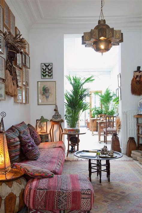 decorate  bohemian living room   easy steps