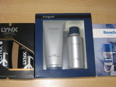 Bench Deodorant by Autograph Lynx Bench Deodorant Wash Sets Can Collect Or