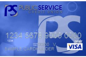 If you like earning rewards for using your card, we have you covered there, too. Public Service Credit Union Classic Visa Credit Card ...