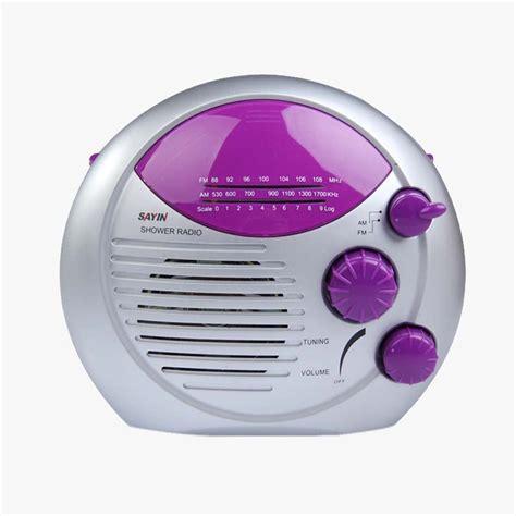 sayin am radio fm de radio etanche pour salle de bains violet m1 ebay