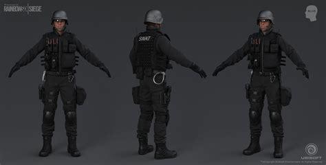 rainbow  siege cinematic swat character
