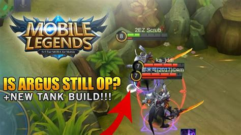 Mobile Legends Is Argus Still Worth Buying + New Argus
