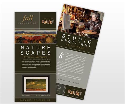 pin  ryan muranaka  rack card  brochure design