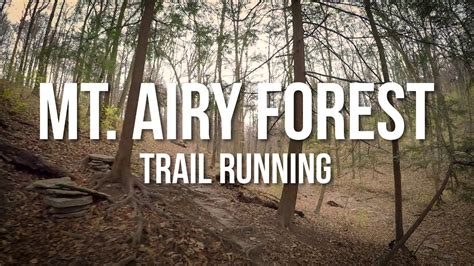 Deck Mt Airy Closing by Mt Airy Forest Trail Running