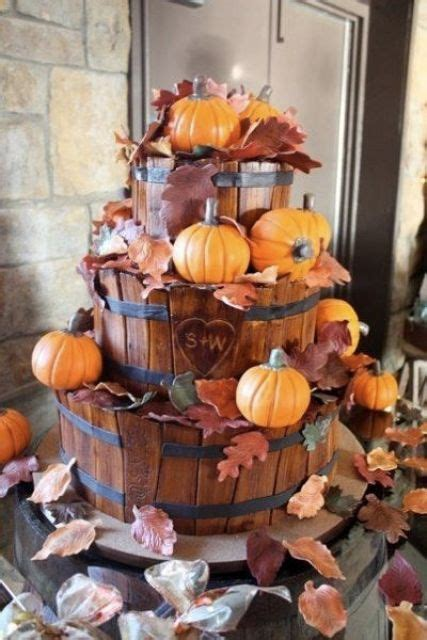 ways   pumpkins   wedding decor weddingomania