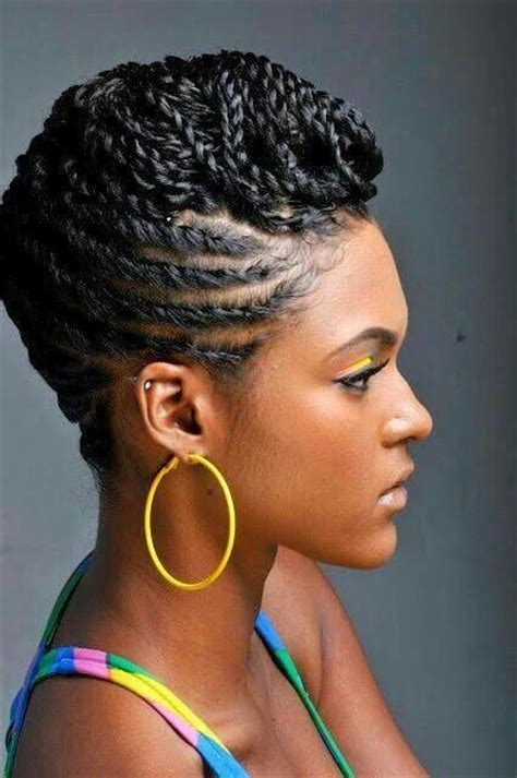 African hairstyles using thread   rkomedia
