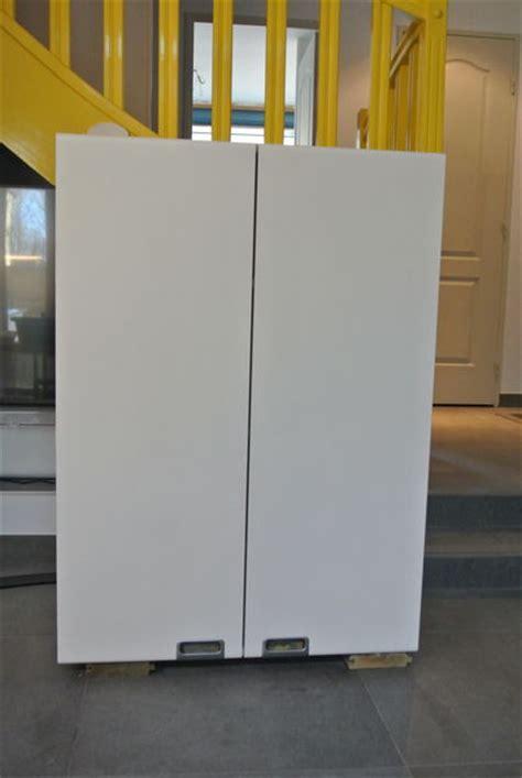 meubles de cuisine mural blanc rare h 110cm occasion