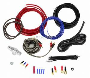 8 Gauge Amplifier Wiring Kit Car Audio Amp 8g Installation