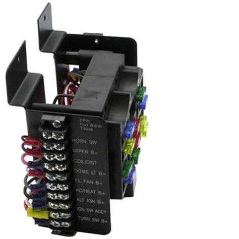painless wiring  universal  circuit fuse block ebay