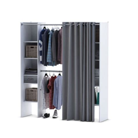 armoire dressing leroy merlin with colonne de