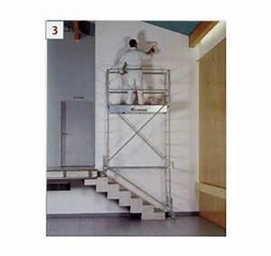 Echelle Pour Escalier : kit escalier pour echafaudage roulant boutique locashop ~ Melissatoandfro.com Idées de Décoration