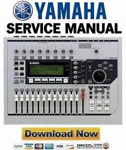 Yamaha Aw1600 Digital Audio Workstation Service Manual