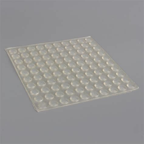 cabinet door bumper pads 100pcs set self adhesive silicone feet clear semicircle