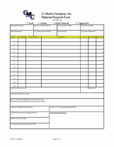 Best photos of material request form template material for Construction material request form template