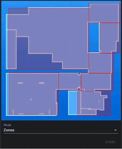 Assistant Interactive Map Predefined Zones Xiaomi Vacuum