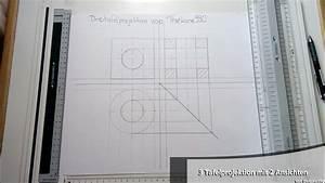 Technische Zeichnung Ansichten : tutorial tricks bei der 3 tafelprojektion mit 2 ansichten youtube ~ Yasmunasinghe.com Haus und Dekorationen