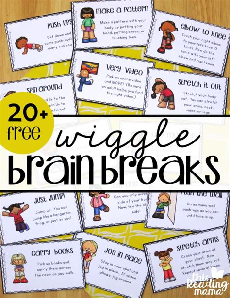 brain gym exercises for preschoolers 25 best ideas about brain breaks on 256