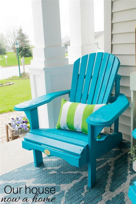 front porch decorating ideas   perfect adirondack
