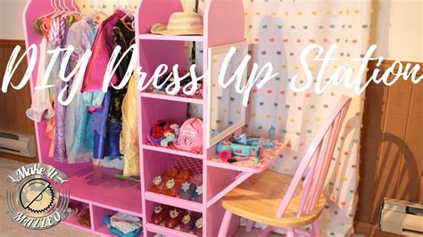 dress up vanity diy dress up station with vanity rocklerplywoodchallenge