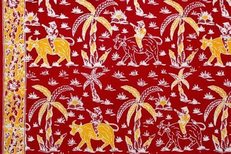 motif batik modern nusantara gambar desain