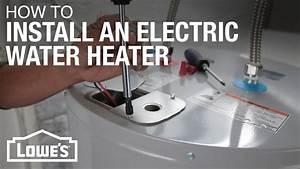 Wiring Up Electric Hot Water Heater